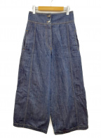 KENZO(ケンゾー)の古着「ワイドデニムパンツ」|インディゴ