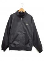 LACOSTE(ラコステ)の古着「バック刺繍スイングトップ」|ブラック