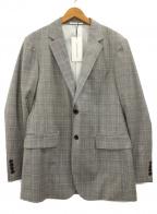 ck Calvin Klein(シーケーカルバンクライン)の古着「テーラードジャケット」|グレー