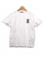 BURBERRY LONDON ENGLAND(バーバリー ロンドン イングランド)の古着「半袖Tシャツ」 ホワイト