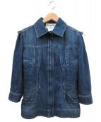 CHANEL(シャネル)の古着「デニムジャケット」|ブルー