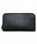 GUCCI(グッチ)の古着「ラウンドファスナー長財布」|ブラック