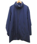 DESCENTE(デサント)の古着「アクティブシェルオールウェザーコート」 ブルー