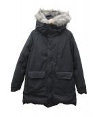 THE NORTHFACE PURPLELABEL(ザノースフェイスパープルレーベル)の古着「ファーフードロングセローダウンコート」|ブラック