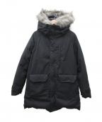 THE NORTHFACE PURPLELABEL()の古着「ファーフードロングセローダウンコート」|ブラック