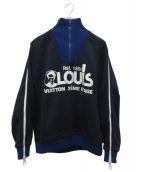 LOUIS VUITTON(ルイヴィトン)の古着「スウェット」|ネイビー