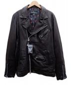 glamb×The Rolling Stones(グラム×ザローリングストーンズ)の古着「ライダースジャケット」|ブラック