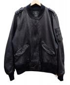 ALPHA(アルファ)の古着「L-2Bジャケット」|ブラック
