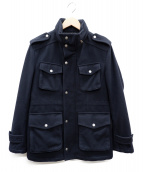 BURBERRY BLACK LABEL(バーバリーブラックレーベル)の古着「ウールジャケット」|ネイビー