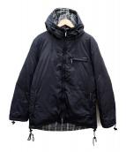 BURBERRY BLACK LABEL(バーバリーブラックレーベル)の古着「ダウンジャケット」 ブラック