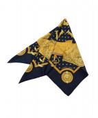 HERMES(エルメス)の古着「シルクスカーフ」 ネイビー