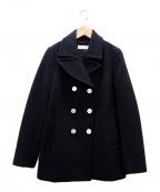 TORY BURCH(トリーバーチ)の古着「ウールコート」|ブラック