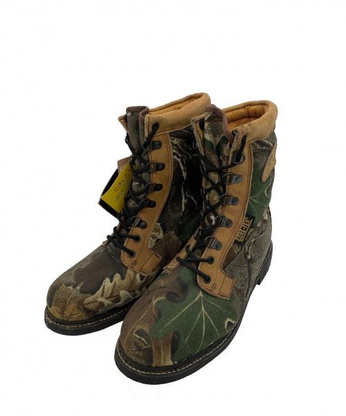 ROCKY BOOTS(ロッキーブーツ)ROCKY BOOTS (ロッキーブーツ) GORE-TEX コンバットブーツ カーキ サイズ:8.5Mの古着・服飾アイテム