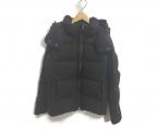 Descente ALLTERRAIN(デサントオルテライン)の古着「ダウンジャケット」 ブラック