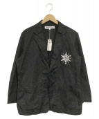 COMME des GARCONS(コムデギャルソン)の古着「2Bジャケット」|ブラック