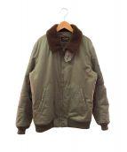 WACKO MARIA(ワコマリア)の古着「B-15ジャケット」 オリーブ