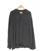 STYLE EYES(スタイルアイズ)の古着「オープンカラーシャツ」|ブラック