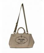 PRADA(プラダ)の古着「2WAYバッグ」|ベージュ