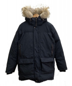 OSC CROSS(オーエスシークロス)の古着「ダウンコート」 ブラック