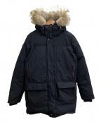 OSC CROSS(オーエスシー クロス)の古着「ダウンコート」 ブラック