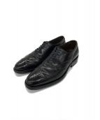 Allen Edmonds(アレン エドモンズ)の古着「ウィングチップシューズ」|ブラック