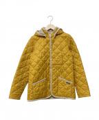LAVENHAM(ラベンハム)の古着「キルティングコート」|イエロー
