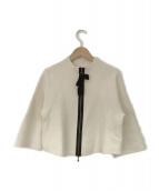 LANVIN COLLECTION(ランバンラコレクション)の古着「ウールジャケット」|アイボリー