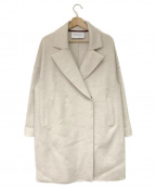 HARRIS WHARF LONDON(ハリスワーフロンドン)の古着「チェスターコート」|ベージュ