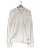 BROOKS BROTHERS BLACK FLEECE(ブルックスブラザーズ ブラックフリース)の古着「ポロシャツ」|ホワイト