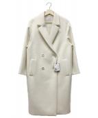 ESTNATION(エストネーション)の古着「コクーンチェスターコート」|ホワイト