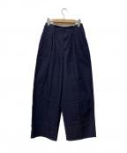 LEE()の古着「ワイドジーンズ」 インディゴ