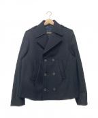NEIL BARRETT(ニールバレット)の古着「Pコート」 ブラック