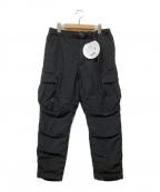 NANGA(ナンガ)の古着「タキビダウンパンツ」|ブラック