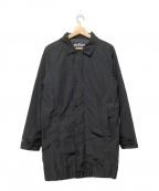 WILD THINGS()の古着「ロングコーチジャケット」 ブラック