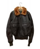 ()の古着「G-1タイプレザージャケット」|ブラウン