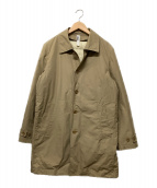 MHL(エムエイチエル)の古着「ダウンライナー付きコート」|ブラウン