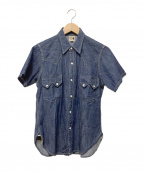 Joe McCOY(ジョーマッコイ)の古着「ウエスタンシャツ」|インディゴ