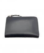 corbo(コルボ)の古着「ラウンドファスナー2つ折り財布」 ネイビー