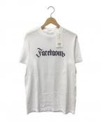 FACETASM(ファセッタズム)の古着「半袖カットソー」 ホワイト
