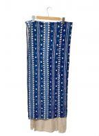 R.H.Vintage(ロンハーマン・ヴィンテージ)の古着「大判ストール」 ブルー