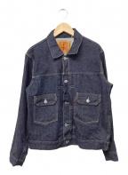 LEVI'S VINTAGE CLOTHING(リーバイスヴィンテージクロージング)の古着「デニムジャケット」 インディゴ