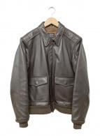 ()の古着「A-2フライトジャケット」|ブラウン
