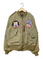 ()の古着「L-2ジャケット」|オリーブ