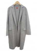 DES PRES(デ・プレ)の古着「ステンカラーコート」|グレー
