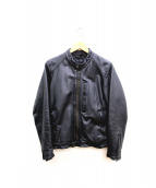 Schott × AMERICAN RAG CIE(ショット × アメリカンラグ シー)の古着「レザージャケット」|ブラック