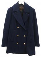 LOUIS VUITTON(ルイヴィトン)の古着「ウールPコート」|ネイビー