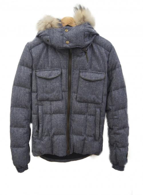 TATRAS(タトラス)TATRAS (タトラス) ダウンジャケット ブルー サイズ:02 冬物の古着・服飾アイテム