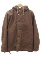 COLIMBO(コリンボ)の古着「オブザーバーパーカー」|ブラウン