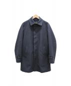 MACKINTOSH PHILOSPHY(マッキントッシュ フィロソフィー)の古着「ライナー付ステンカラーコート」|ブラック