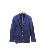 DIESEL(ディーゼル)の古着「テーラードジャケット」 ブルー